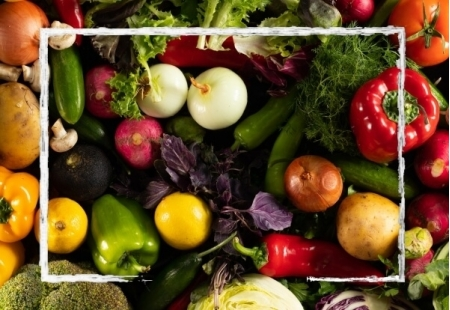 Cesta de verduras 20kg