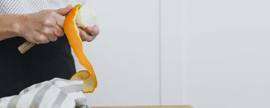 ¿Cómo pelar naranjas correctamente?