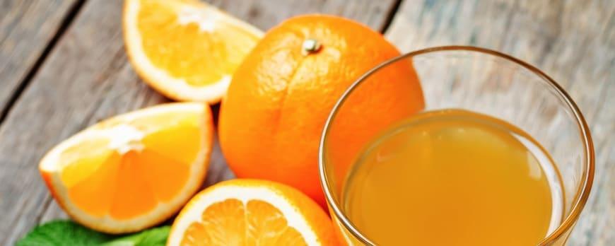 Zumo de naranja: Sus propiedades