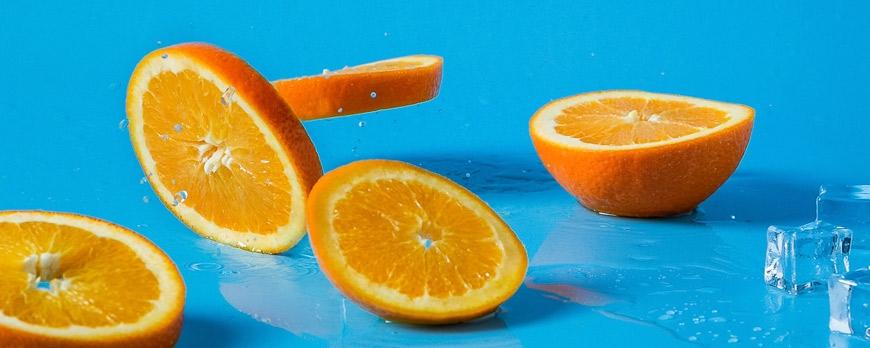 Propiedades del zumo de naranja